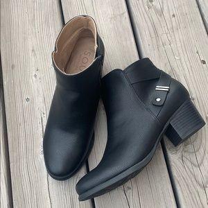 New Soul Naturalizer Calm Vegan Leather Booties